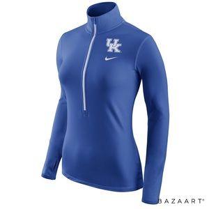 Kentucky Wildcats Pro Hyperwarm Half-Zip Pullover